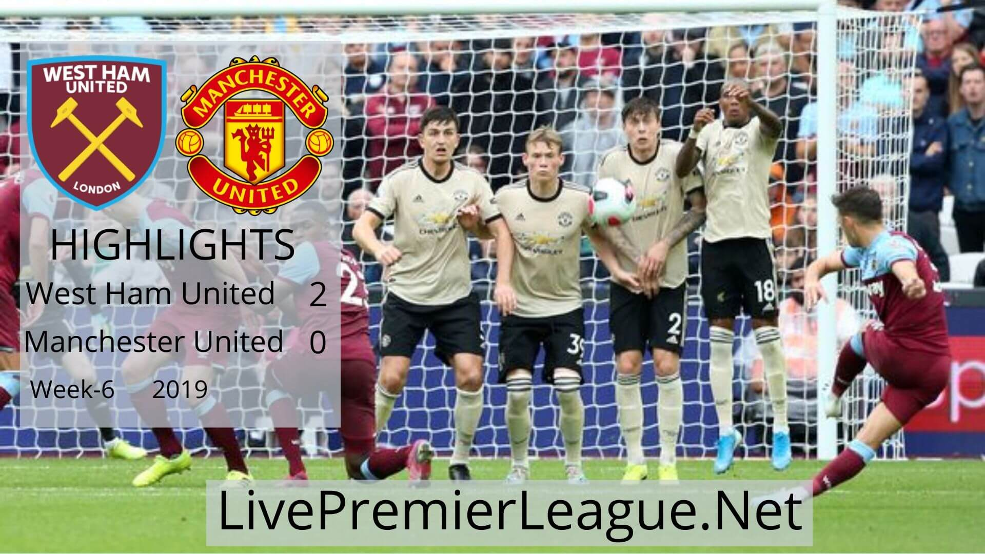 West Ham United vs Manchester United Highlights 2019 Week 6