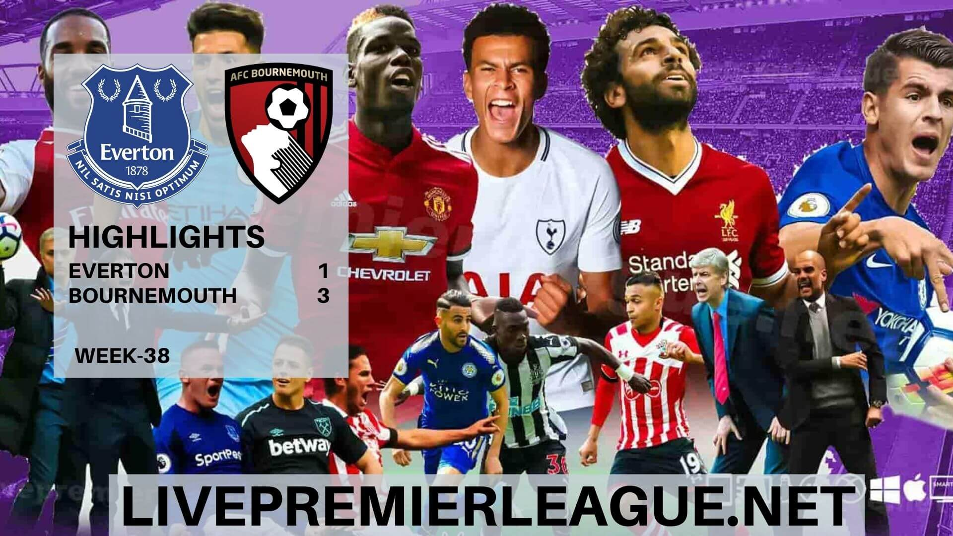 Everton Vs AFC Bournemouth Highlights 2020 EPL Week 38