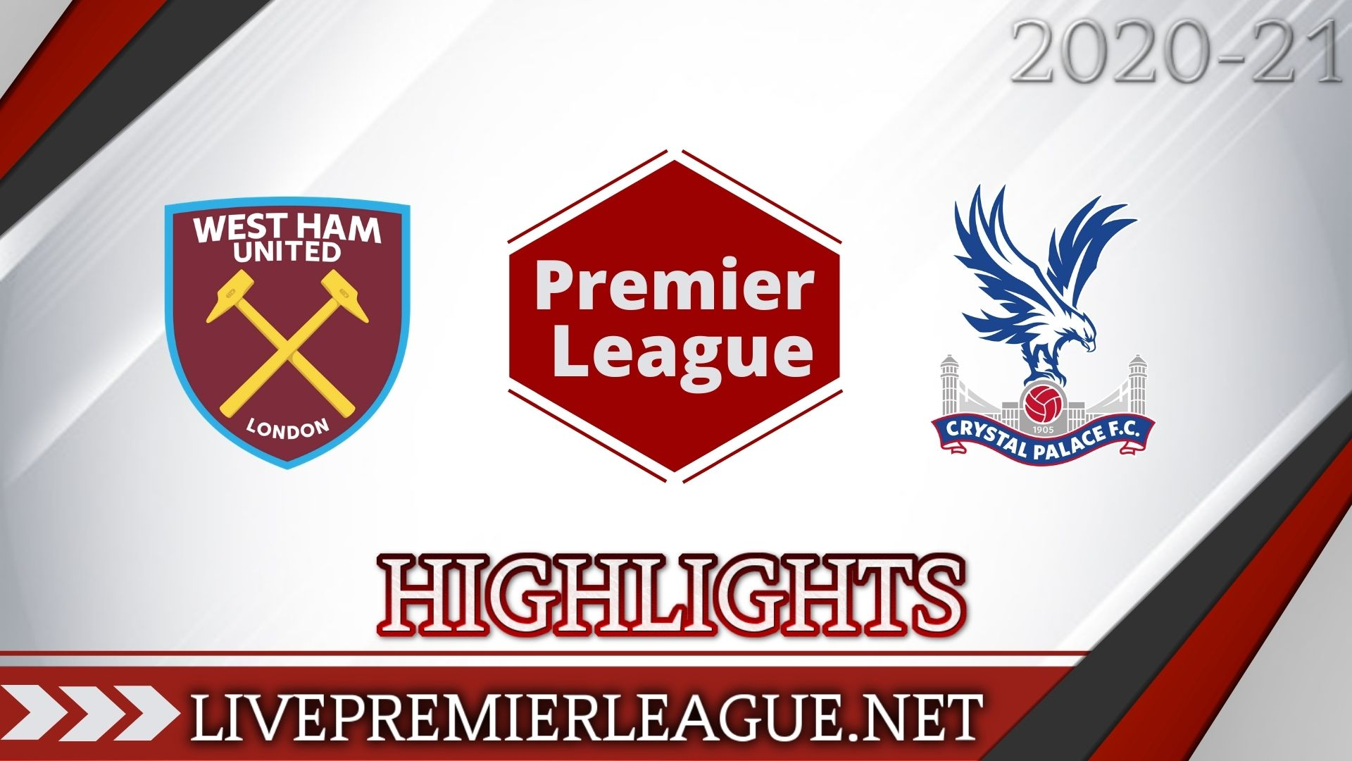 West Ham Vs Crystal Palace Highlights 2020 EPL Week 13