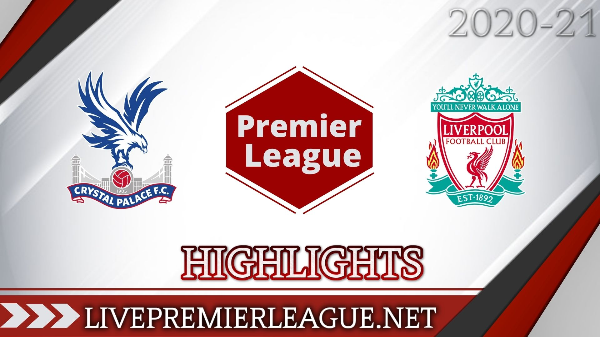 Crystal Palace Vs Liverpool Highlights 2020 EPL Week 14