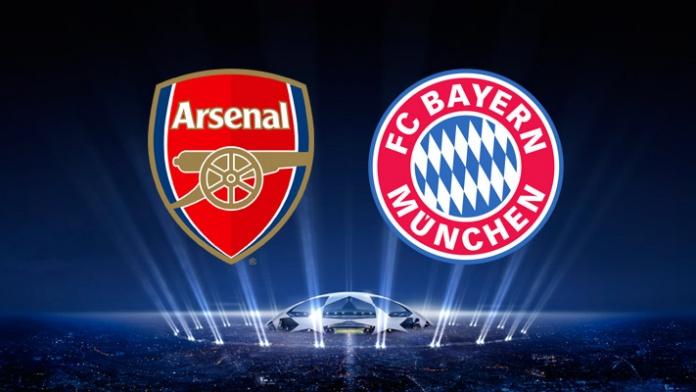 Live Arsenal vs Bayern Munchen Telecast