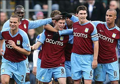 aston villa players
