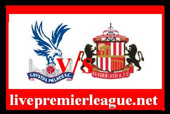 Crystal palace vs sunderland live