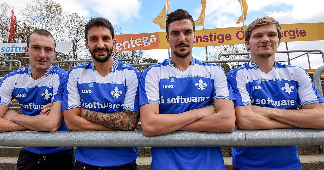Darmstadt 98 players