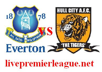 Live Hull City vs Everton