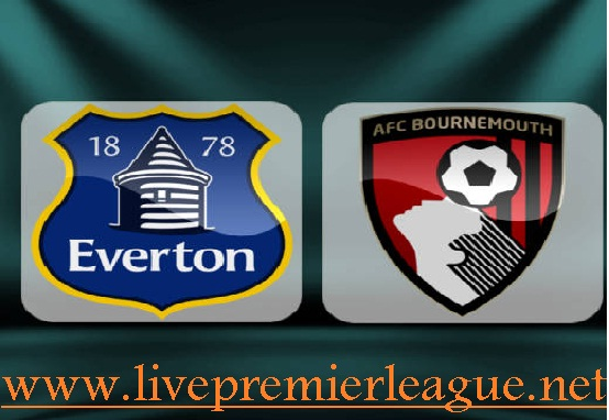 everton vs bornemouth live