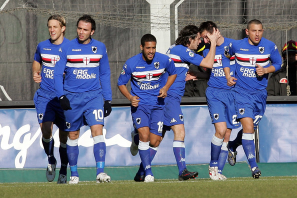 Sampdoria players